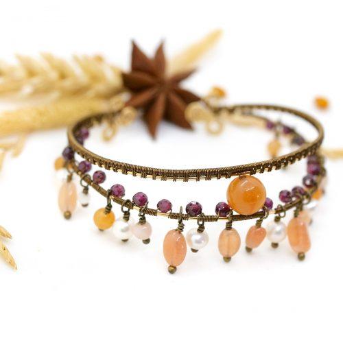 Bracelet «Tribu du Soleil levant»