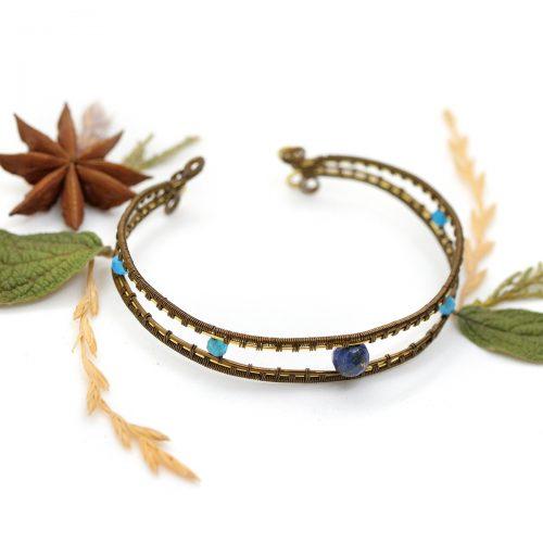 Bracelet «Yeux de Mahakala»