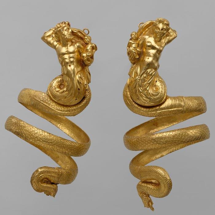 Bijoux de la Grèce antique - brassards