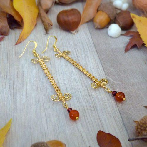 galerie créations - bijoux anciennes collection - boucles d'oreilles 3