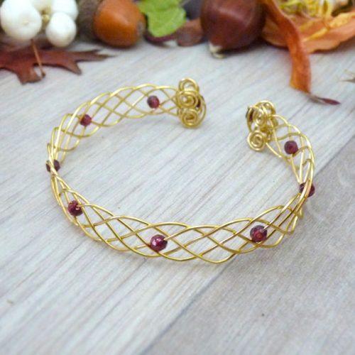 galerie créations - bijoux anciennes collection - bracelet 1