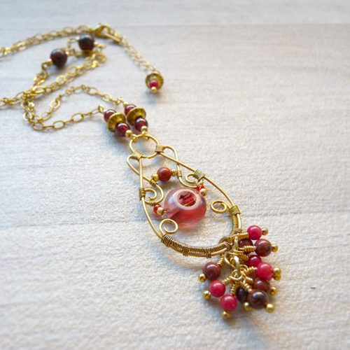 galerie créations - bijoux anciennes collection - collier 7