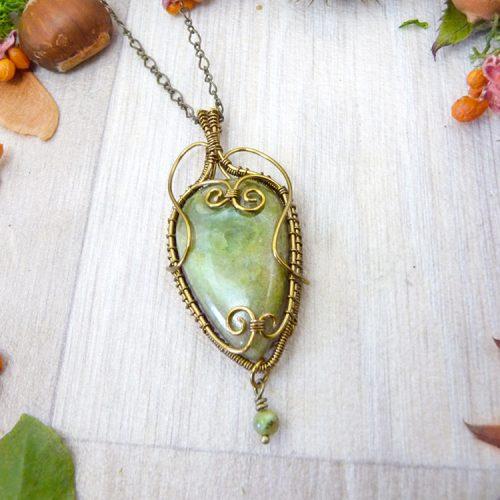 galerie créations - bijoux anciennes collection - collier 4