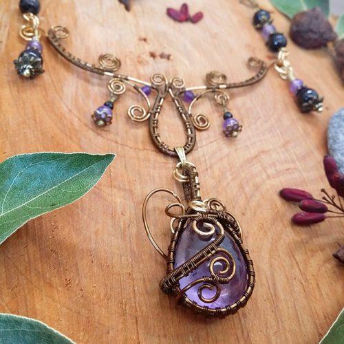 galerie créations - bijoux anciennes collection - collier 5