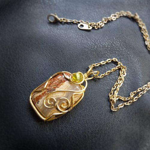 galerie créations - bijoux anciennes collection - collier 6