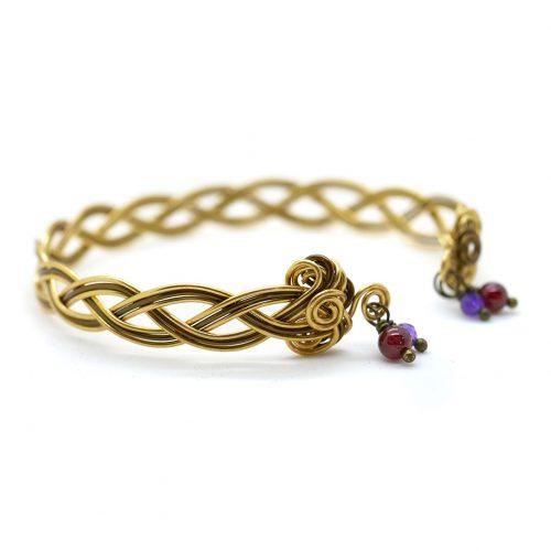 Bracelet «Envolée celtique» – triple fil