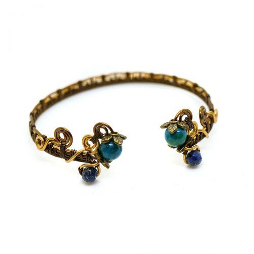 Bracelet «Couronne de Lauriers» ~~ Collection «Retour du Printemps» ~~