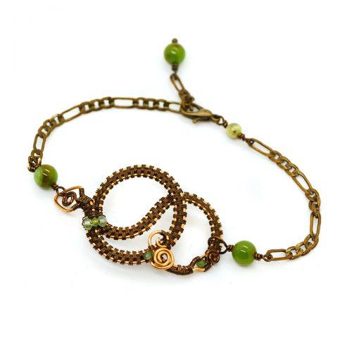 Bracelet «Jörmungandr» ~ Collection «La Dernière Bataille» ~
